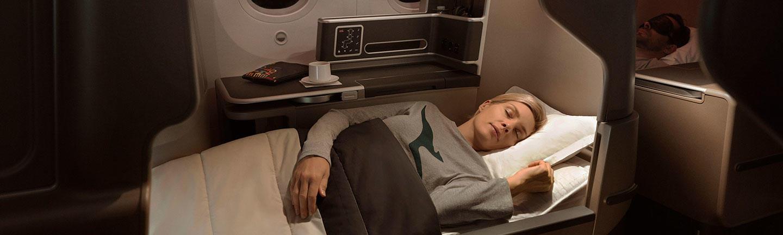 Qantas Business Class Flights