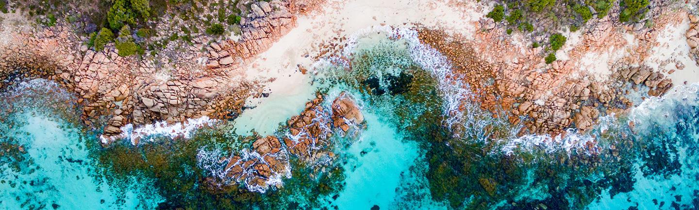 Aerial Australia shot