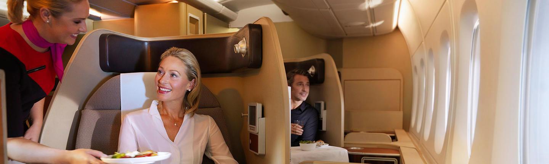 Qantas First Class