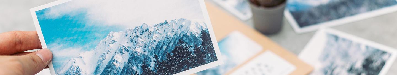 Postcards - newsletter sign-up